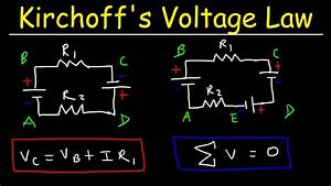 Kirchhoff's Voltage Law - KVL Circuits, Loop Rule & Ohm's ...