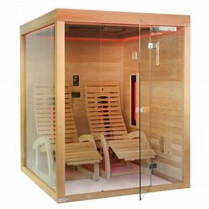 Sauna Mit Glasfront : infrarotkabine sauna zanier lounger tyl4sports villach ~ Michelbontemps.com Haus und Dekorationen
