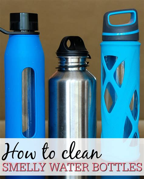 How To Clean Smelly Water Bottles  Frugally Blonde