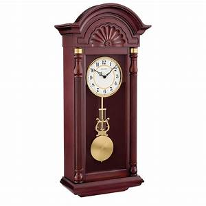 Bulova New Yorker Chiming Pendulum Wall Clock C1516