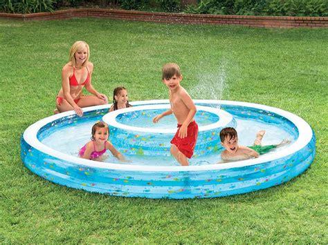 piscine gonflable avec siege intex piscine avec fontaine