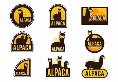 Alpaca Vector Labels Transparent Llama Graphics Clipart