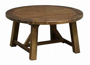 Round coffee table for Rustic circle coffee table
