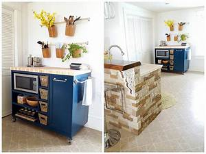 rolling kitchen island buildsomethingcom With rolling kitchen island for small kitchen
