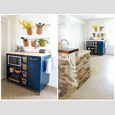 Rolling Kitchen Island  Buildsomethingcom