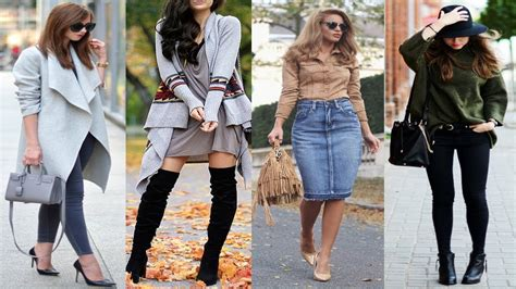 2018 Trends Something Borrowed And Plenty That Is New: Fall Winter 2017/2018 Outfit Ideas Fashion Trends