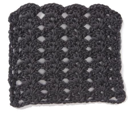 shell stitch crochet free crochet stitch stacked shell pattern crochet kingdom