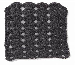 Free Crochet Stitch Stacked Shell Pattern ⋆ Crochet Kingdom