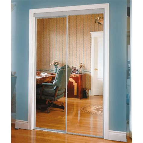 In Favor Mirror Sliding Closet Doors Rona Ideas
