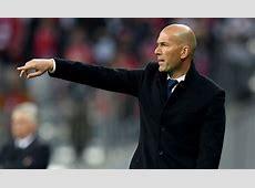 Real Madrid News Zinedine Zidane says he 'LOVES' James