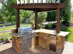 Outdoor, Grilling, Station, Ideas, U2014, Renacci, Design, For, Home, Ideal, Patio, Grill, Ideas