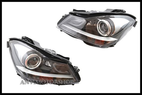 2012 13 sypder chrome hid projector headlights for black