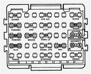 1994 Gmc Sierra 1500 Fuse Box Diagram