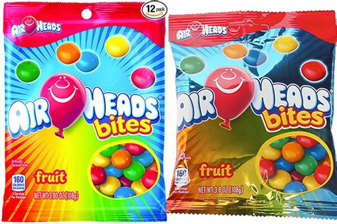amazon airheads bites candy peg bag  pack     shipping