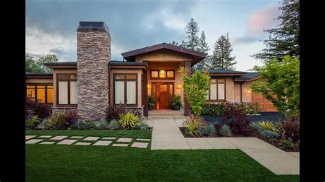 casa con camino caminos para entradas de casas ideas planos modernas
