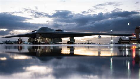 heres badass footage     stealth bombers