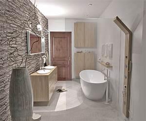 salle de bain esprit zen maison design sphenacom With salle de bain esprit zen