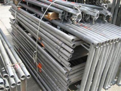 gerüst für treppenhausrenovierung 105 m 194 178 gebrauchtes layher blitz ger 195 188 st feldl 195 164 nge 2 57m bauunternehmen