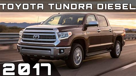 toyota tundra diesel review youtube