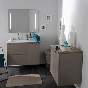 miroir avec eclairage integre neo sensea l90xh74xp35 cm With miroir avec eclairage integre