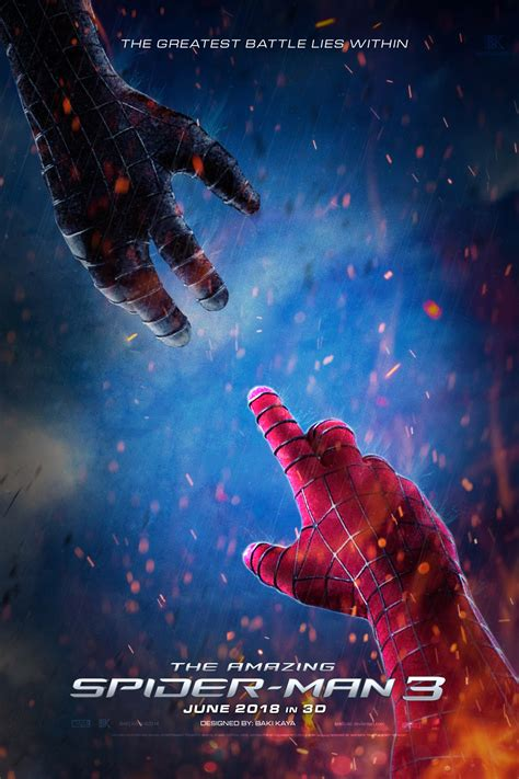 The Amazing Spiderman 3 (2018) Poster #5 By Krallbaki On