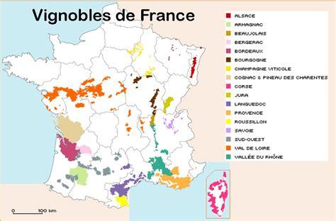 la cuisine nantes carte des vignobles français arts et voyages