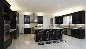 40 magnificent kitchen designs with dark cabinets 763