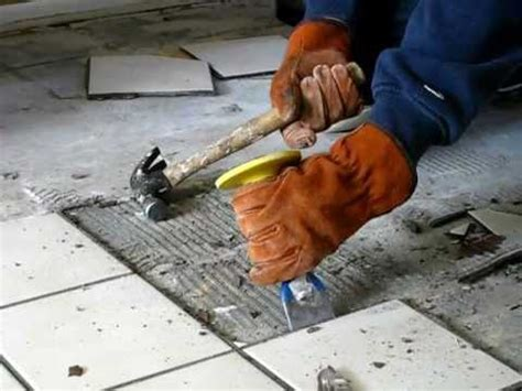 remove tile  easy     handyman