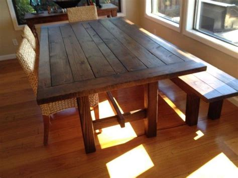 17 Best Images About Homemade Kitchen Table On Pinterest
