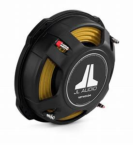 Jl Audio 12tw3-d4   300mm Subwoofer Driver Dual