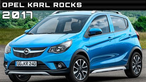2017 Opel Karl Rocks Review Rendered Price Specs Release