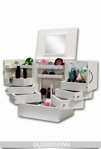 Make Up Schrank : new design wooden makeup box with space saving design wood ~ Frokenaadalensverden.com Haus und Dekorationen