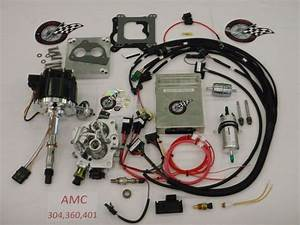 Jeep Fuel Injection System Complete Tbi