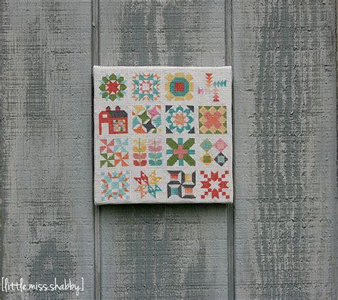 cross stitch quilt blocks classic quilt block sler cross stitch favequilts
