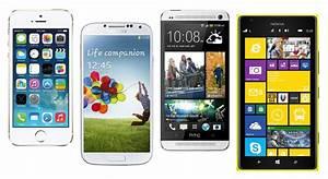 Iphone 5s Vs Galaxy S4 Vs Htc One Vs Lumia 1520