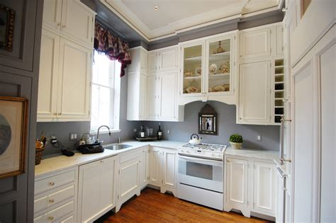 grey and white cabinets exquisite grey walls kitchen the color effect