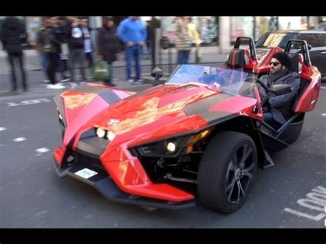 Car With 3 Wheels by Most Expensive Car 3 Wheel Car Polaris Slingshot 2015