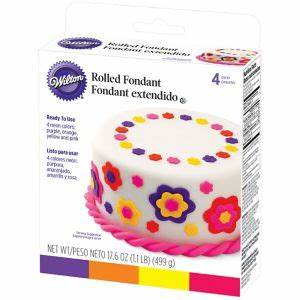Neon Rolled Fondant 17 6oz Party City