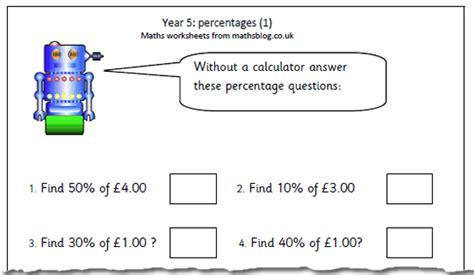 percentages worksheets y5 maths worksheets year 5 uk homeshealth info