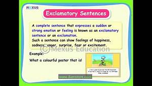 Learn English  How Many Kinds Of Sentences