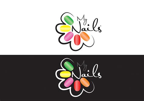 MY NAilS logo & Branding on Behance