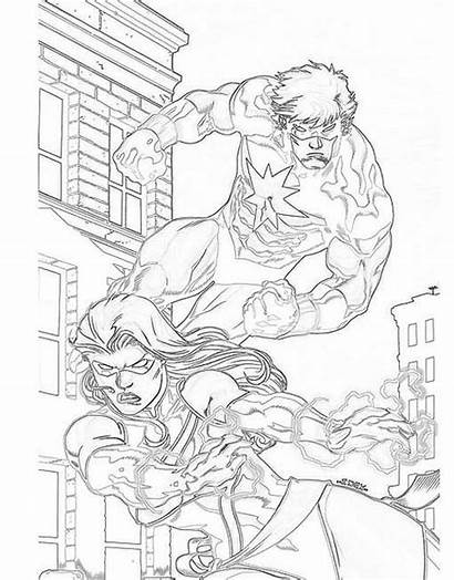 Dibujos Para Marvel Pintar Comics Via Seiho