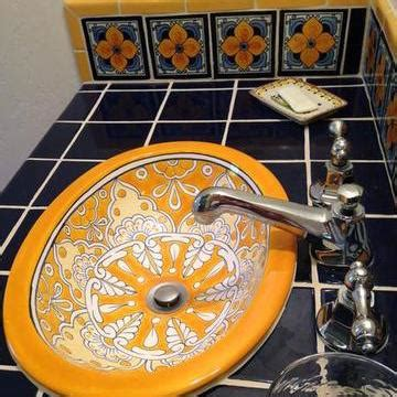 mexican tile  bathrooms mexican tile designs