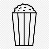 Popcorn Corn Pop Coloriage Mewarnai Colorear Dessin Palomitas Ausmalbilder Livre Dibujo Jagung Maiz Coloring Gambar Mais sketch template
