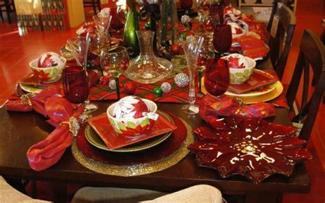 la decoration de table pour noel plaisir  style