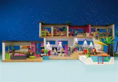 chambre entiere maison moderne 5574 playmobil