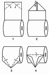 Origami Paper Toilet Boat Coloring Mandatory Pages Lessons Sailboat Folding Resource Fold Center Boats Magdalena Denis 2nd sketch template