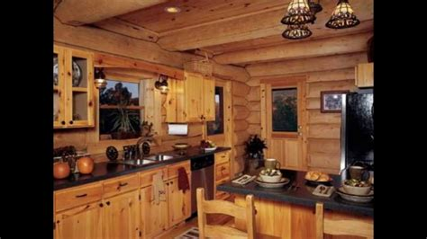 Designing Your Log Cabin Kitchens  Youtube