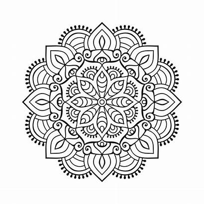 Mandala Dxf Clipart Svg Vector Pdf Eps