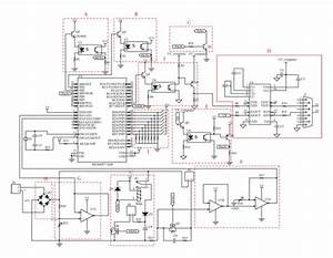 It Shows The Schematic Diagram Of A Microcontroller